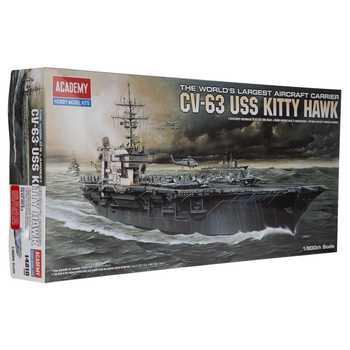 USS Kitty Hawk CV-63 Model Kit